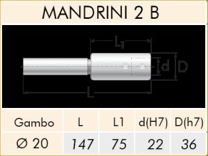TECHNICAL SHEET MANDRINI 2/B